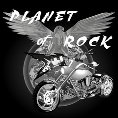 planet of rock