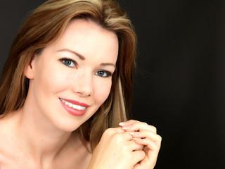 Beautiful Sensual Young Woman
