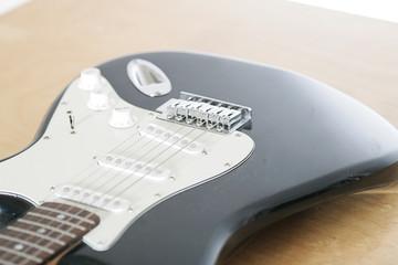 Aufnahme einer Gitarre