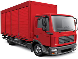 European box truck