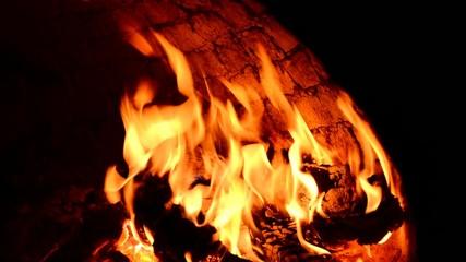 fırın ateşi&alev