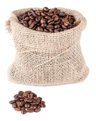 Kaffee Bohnen Sack