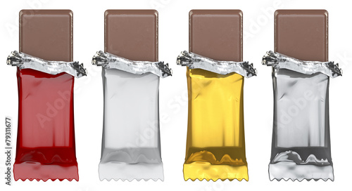 Generic candy bars, just add artwork - 79311677