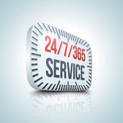 24/7/365 Service