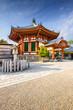 Pavilion at Kofuku-ji Shrine in Nara, Japan