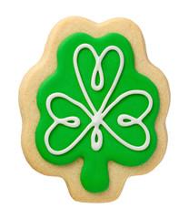 Shamrock Cookie for Saint Patricks Day