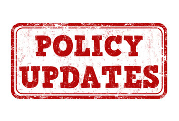 Policy updates stamp