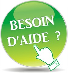 bouton besoin d'aide