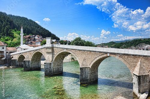 Old bridge in Konjic