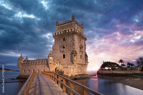 fototapeta na ścianę Tour de Belém Lisbonne Portugalia