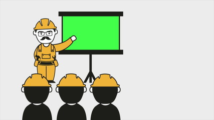 Industrial education Video animation