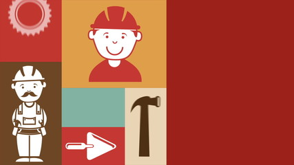 Technical service Icons, Video animation