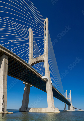 Obraz na Plexi Vasco da Gama Bridge in Lisbon