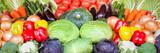 Gemüse als Hintergrund