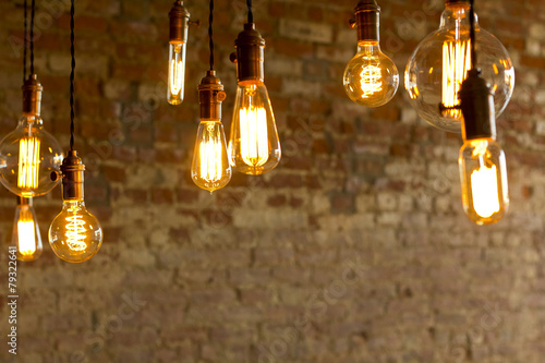 Antique Light Bulbs - 79322641