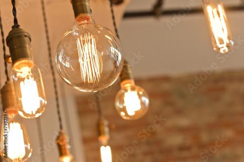 Antique Light Bulbs - 79322847