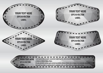 Polygon label