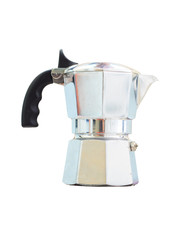 Coffee Pot, coffee maker on white background.
