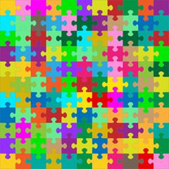 Puzzle, Puzzleteile, Jigsaw, farbig, bunt, gemischt, Puzzel, 2D