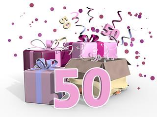 Cadeaus voor vrouw van 50 - Sarah