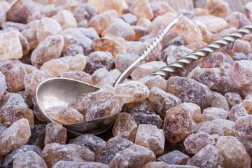 Brown candy sugar