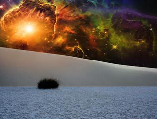 White Sands Fantasy Landscape