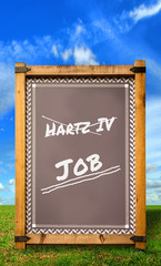 Strassenschild 34 - Job