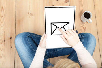 email auf tablet verschicken