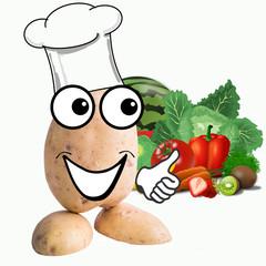 little potato man