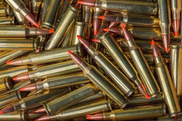 Background of military ammunition