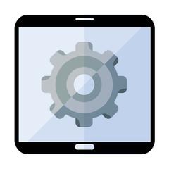Icono smartphone configuracion