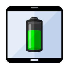 Icono smartphone energia