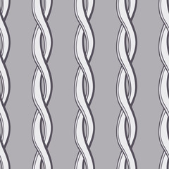 Seamless twisted rope wallpaper pattern