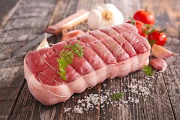 raw beef filet