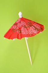 Chinesische Cocktail Schirmchen aus Papier