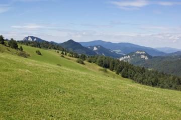 Three Crowns mountain seen from Slovakia