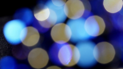 Blurred abstract motion background, bokeh. 4K UHD footage.
