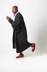 Running away lawyer