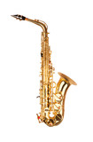 Fotoroleta Alto saxophone in soft light