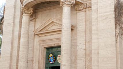Sant'Andrea al Quirinale. Roma, Italy
