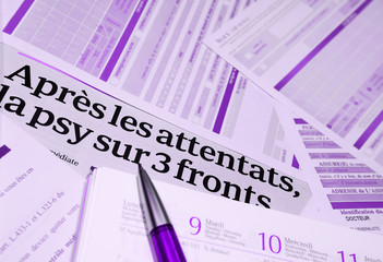 attentats en france :  gestion du stress