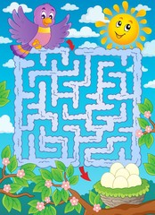 Maze 2 with bird theme
