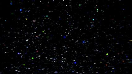 Defocused lights background in 3840X2160 4K UHD video.