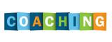 """COACHING"" icon (training talent personal life development)"