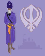 sikh devotee