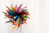 Fototapety Colorful pencils