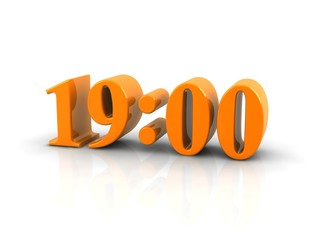time 19 o'clock