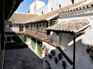 patio of Posada del Potro, Cordoba, Spain