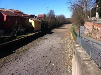 Alzaia Naviglio Grande in secca, Milano