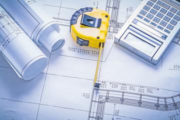 tapeline rolls of blueprints calculator